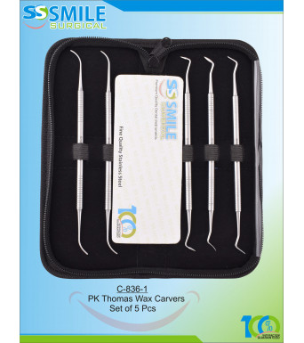 PK Thomas Wax Carvers  Set of 5 Pcs
