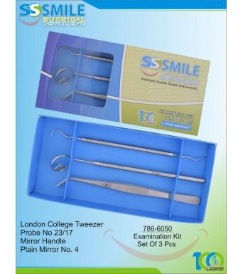 Examination (First Aid) Kit Of 3 Pcs