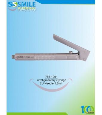 Intraligamentary Syringe 1.8 ml (EU Standard Size)