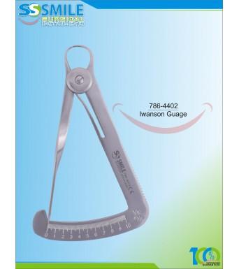 Iwanson Wax Caliper Gauge 1-10mm