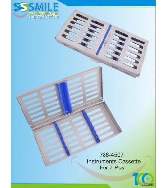 Instruments Cassette For 7 Pieces