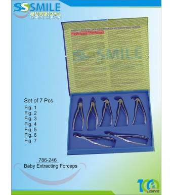 Baby Extracting Forceps Set of 7 Pieces