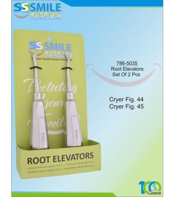Root Elevators Set Of 2 Pcs